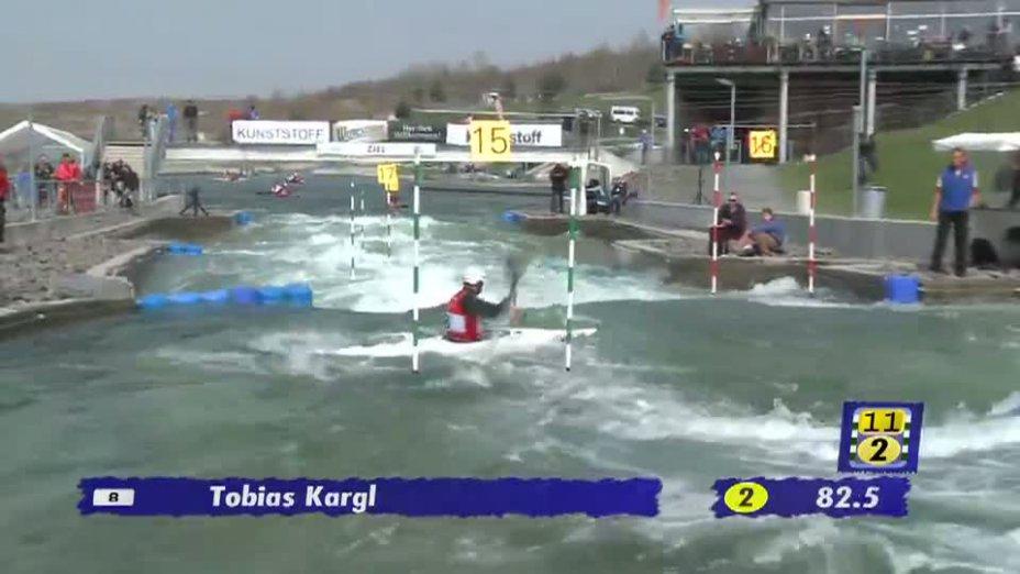 Herren K1 A-Finale 21.04.2013 Qualifikation Kanu-Slalom in Markkleeberg