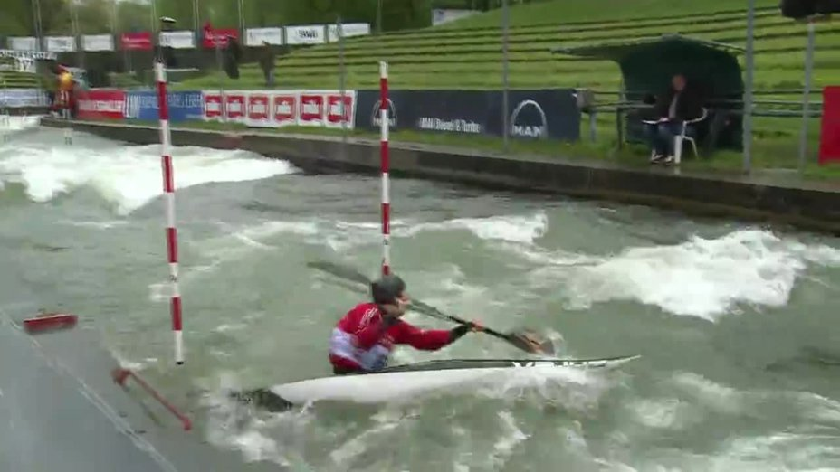 Laurenz Laugwitz - Quali 2015 |Rennen 4|K1-Herren-Finale / Augsburg