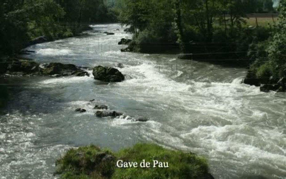 Kanuwandern in Frankreich