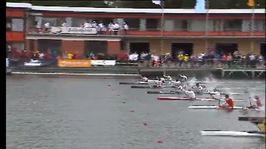 Kanu-Rennsport Weltcup 2011 Duisburg / Sprint K2 Men 200m Final