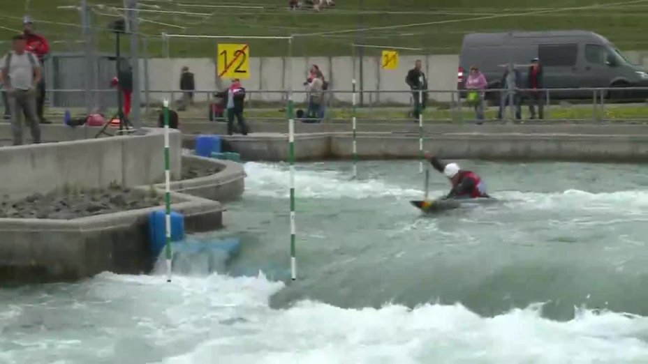 Sideris Tasiadis - Quali 2015  Rennen1 C1-Herren-Finale / Markkleeberg