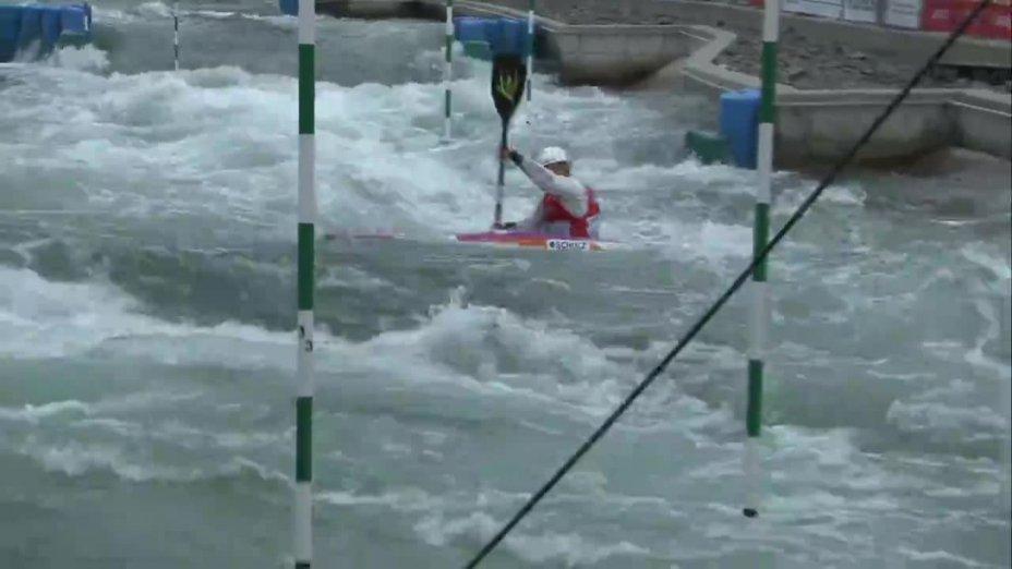 Fee Maxeiner - Quali 2015 |Rennen1|K1-Damen-Finale / Markkleeberg