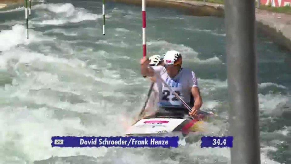 C2 Herren Finale - Deutsche Kanu-Slalom Meisterschaft 2013