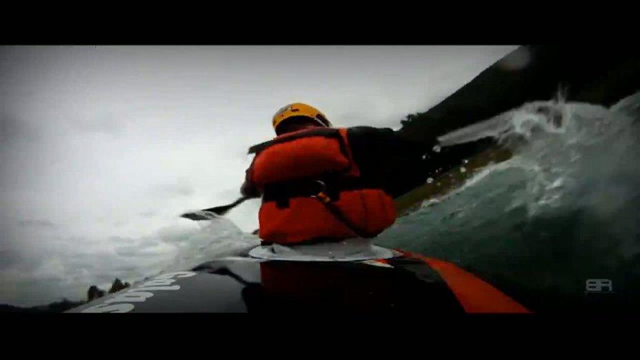 Bracing Rapid - Wildwasser