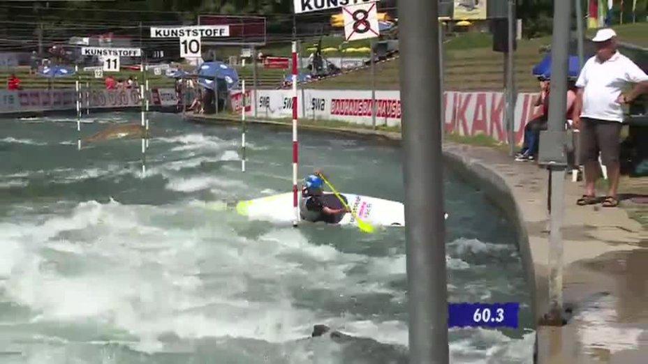 C1 Damen Finale - Deutsche Kanu-Slalom Meisterschaft 2013