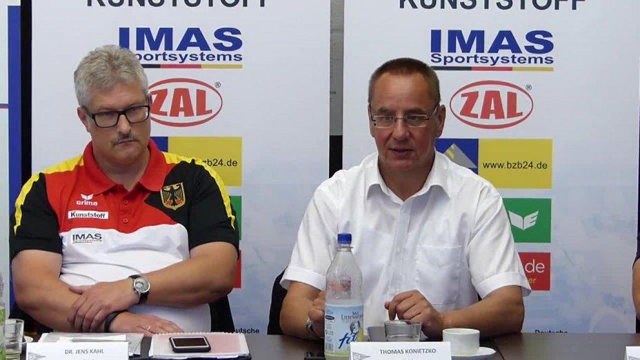 DKV-Präsidenit Thomas Konietzko zur Veränderung des olympischen Programms