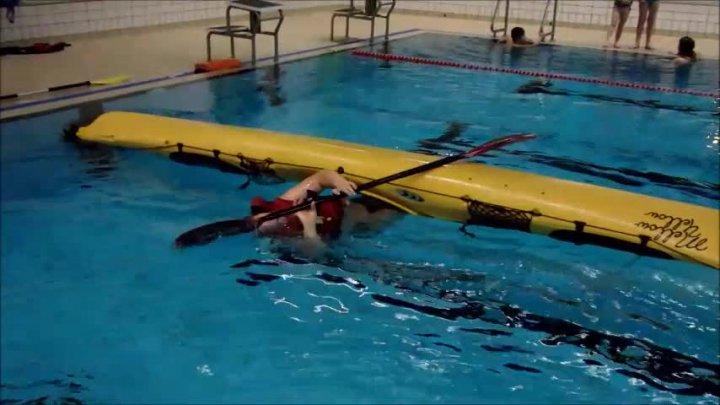 Wiedereinstieg unter Wasser