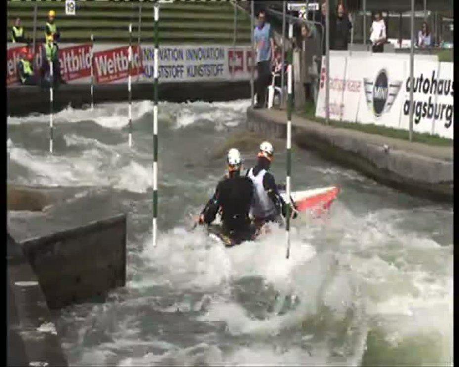 Becker / Henze Olympia-Quali 2012 A-Finale C2M 21.04.2012