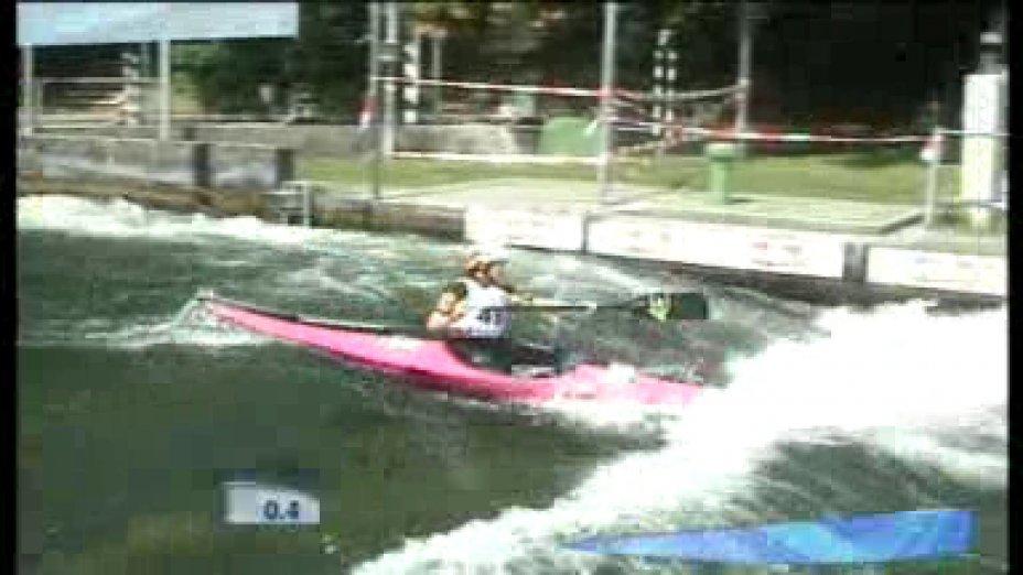 Sabrina Barm ICF Canoe World Cup 2010 Augsburg