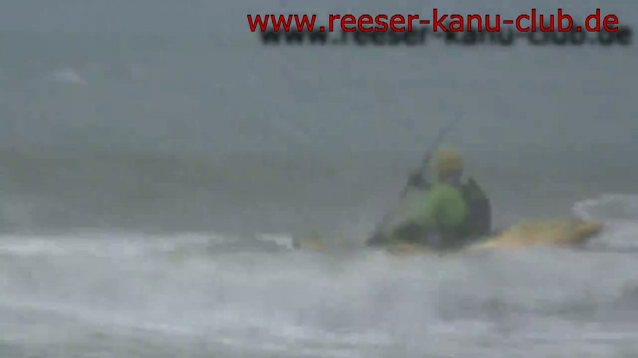 RKC - Brandungspaddeln auf der Nordsee bei Scheveningen