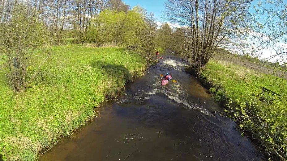 Seeve: Im Kajak von Jesteburg zur Elbe