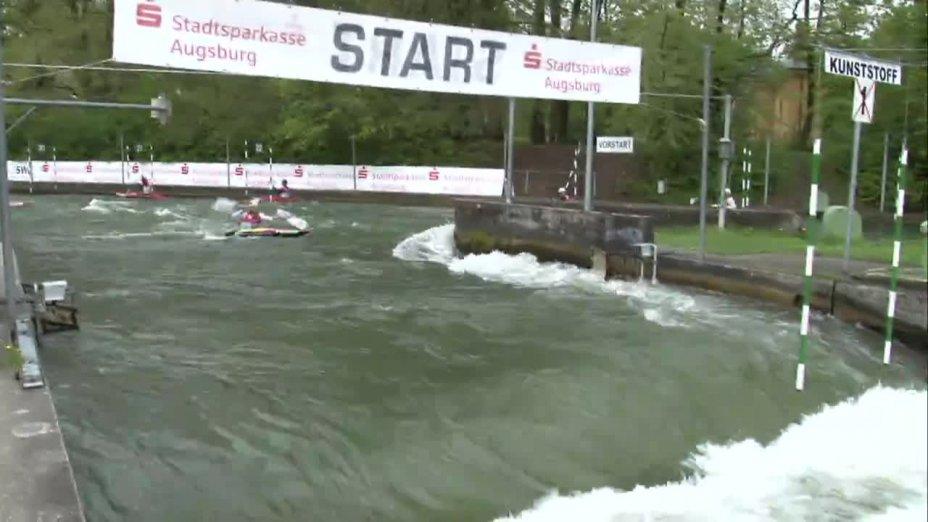 Sebastian Schubert - Quali 2015 |Rennen 3|K1-Herren-Finale / Augsburg