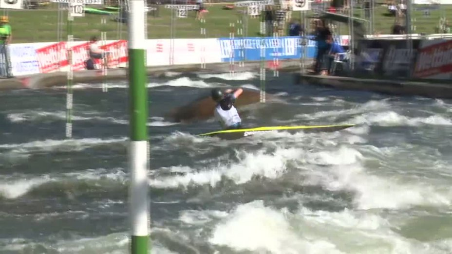 Rennen 2, Semifinale, DJJM 2012 Augsburg, C1 Junioren männlich