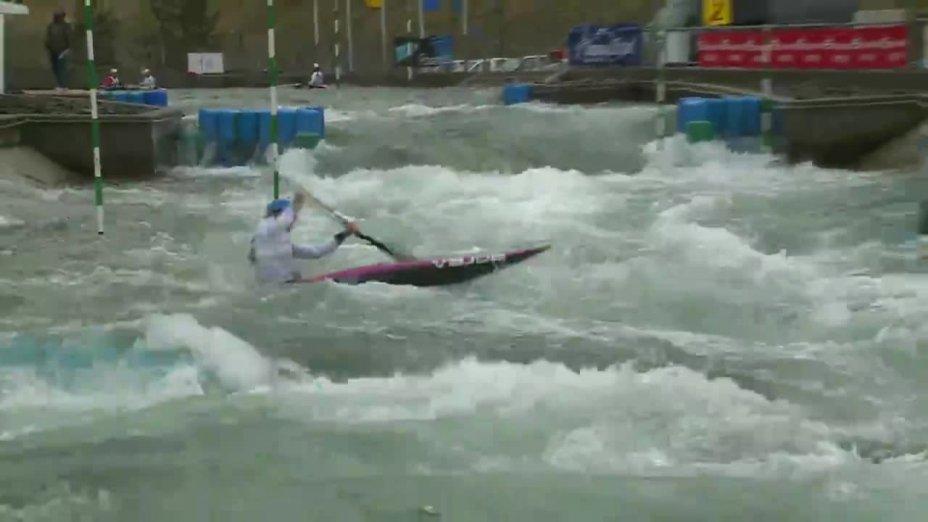 HILGERTOVA STEPANKA - FINAL Run | 2015 ICF Canoe Slalom Ranking - Markkleeberg