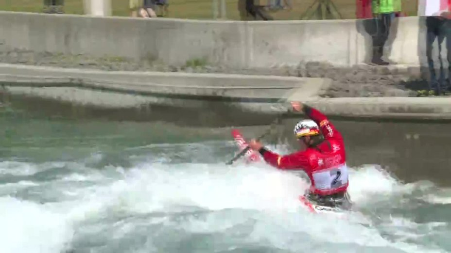 Jan Benzien - Quali 2015 |Rennen 2|C1-Herren-Finale / Markkleeberg