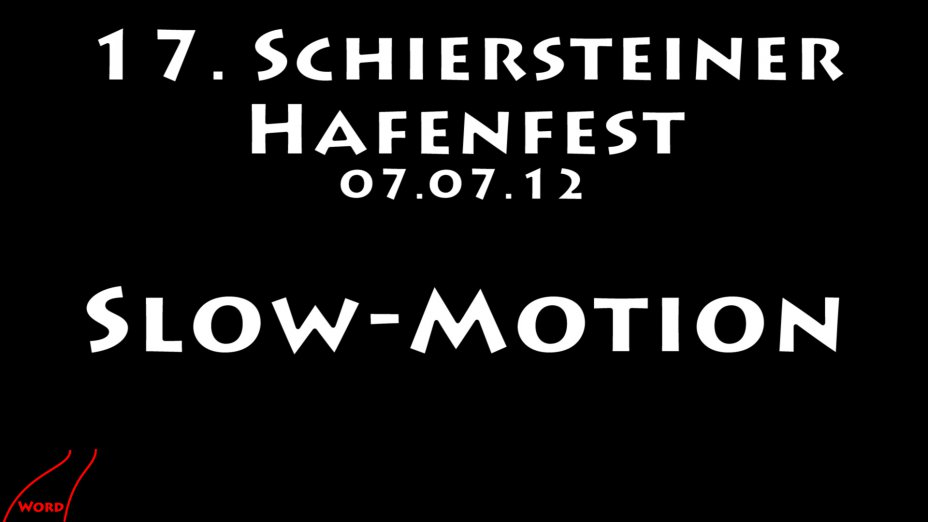 Schierstein 2012 Drachenboot Slow Motion