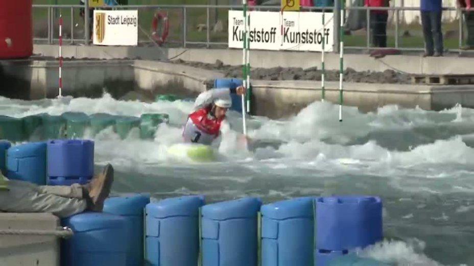 Herren C1 A-Finale 21.04.2013 Qualifikation Kanu-Slalom in Markkleeberg