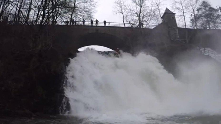 Wasserfall von Coo
