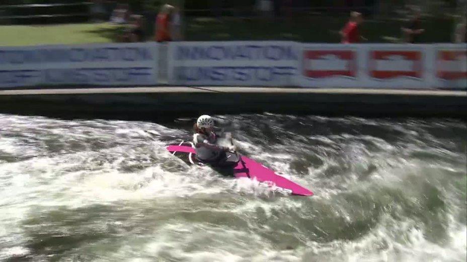 Rennen 9, Finale, DJJM 2012 Augsburg, K1 Jugend weiblich