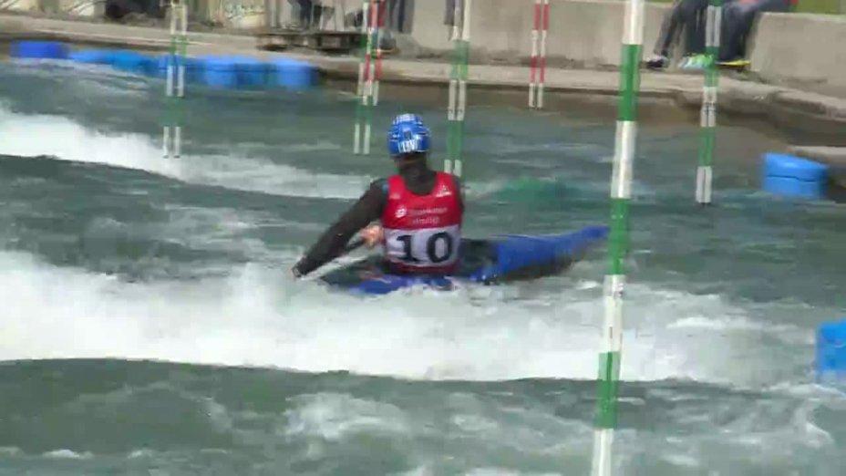 Samuel Hegge - Quali 2015 |Rennen 2|K1-Herren-Finale / Markkleeberg