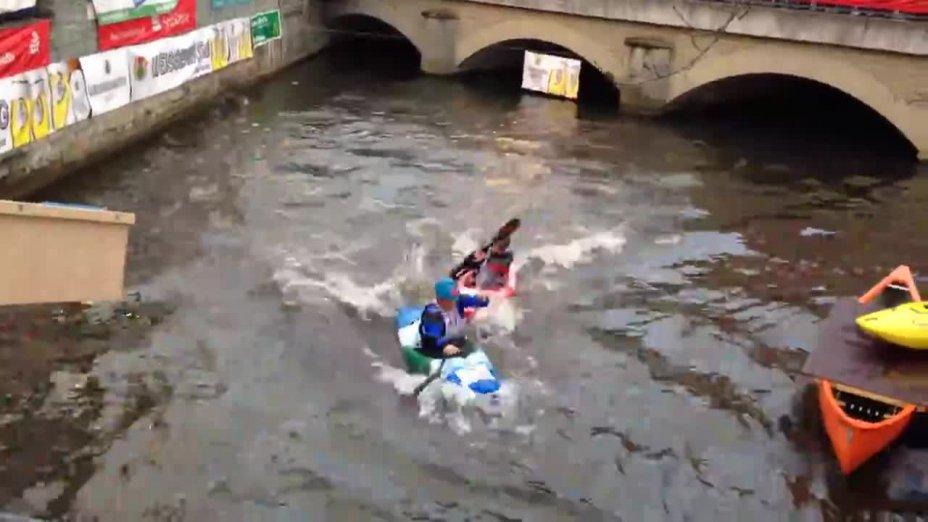 Boatercross and Weissenburger Kanusprint 2014