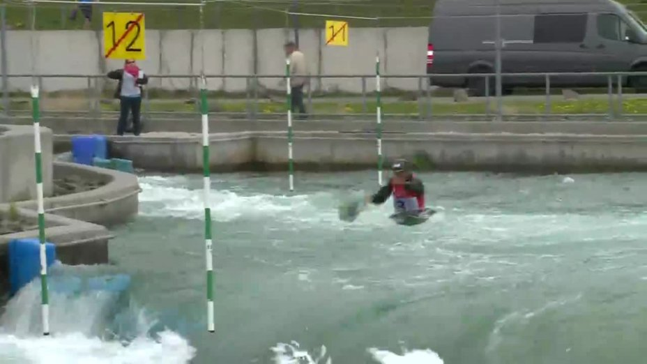 Fabian Schweikert - Quali 2015  Rennen1 K1-Herren-Finale / Markkleeberg