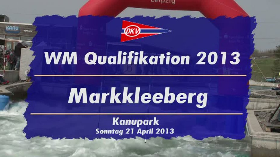 Damen K1 1. Lauf 21.04.2013 Qualifikation Kanu-Slalom in Markkleeberg